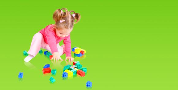 Im Vorkindergarten wird viel gespielt